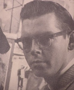 Don Alexander, TV News Announcer 1957