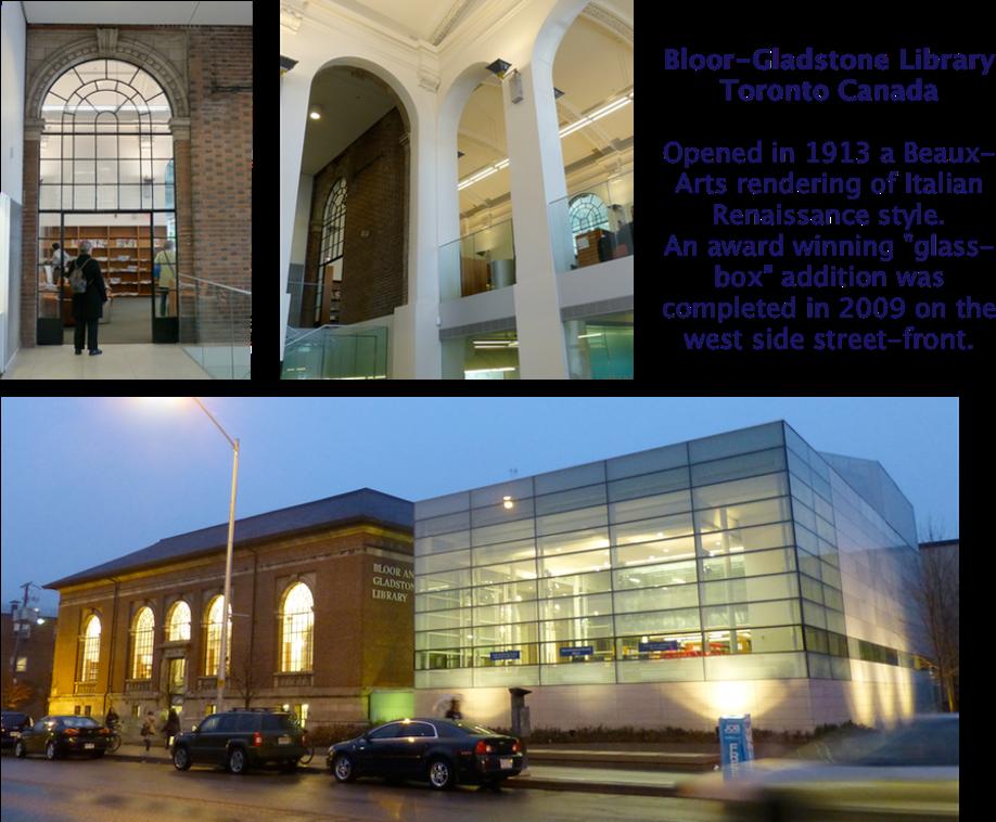 Bloor-Gladstone Library Toronto Canada